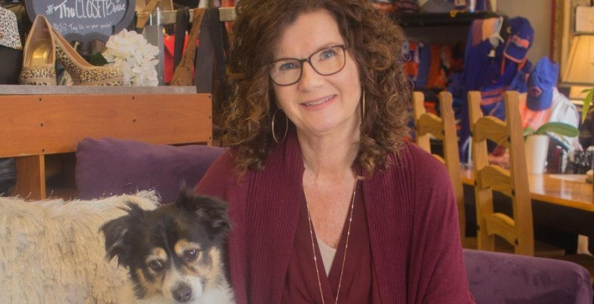 Kelly McMurry and Her Dog copy 2